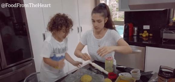 recetas saludables para hacer con mis hijos en Casa