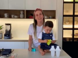 receta saludable muffins pancackes para hacer con mis hijos
