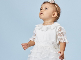 3 outfits que tu bebé puede usar bautizo