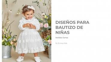 Catalogo Bautizo Vestidos Cortos Ninas 1